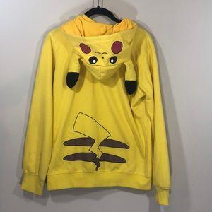 Pikachu Hoodie Size Large